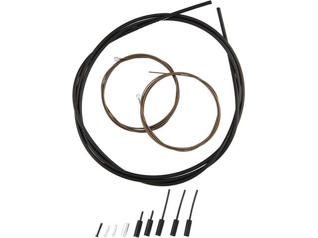 Shimano Road Linka przerzutki - zestaw Powlekane polimerem, black